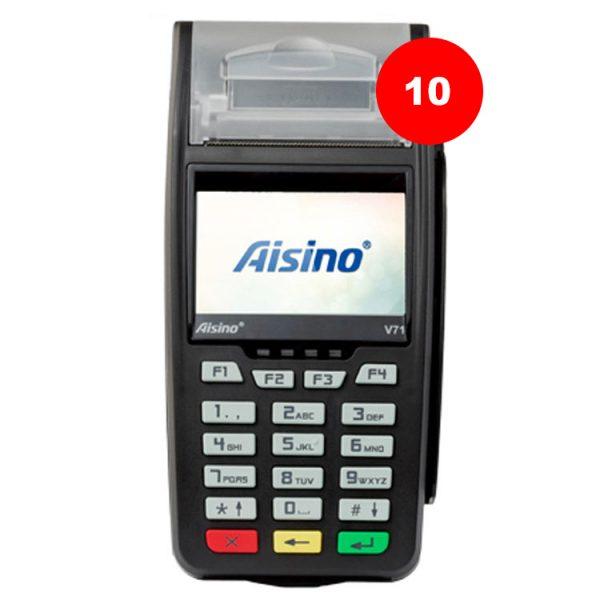 بسته 10عددی - Aisino v71
